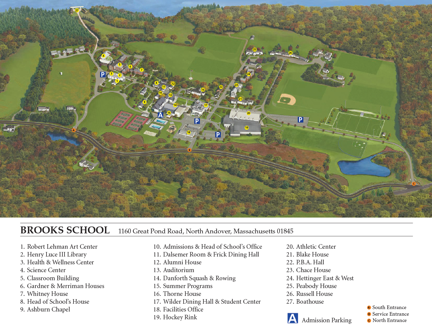 Andover Campus Map Www Naturalrugs Store